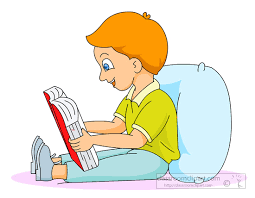 read in bed pillow reading clipart boy reading in bed sitting up against a pillow