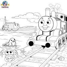 thomas friends misty island rescue coloring pages kids