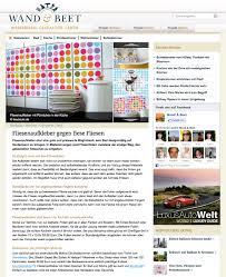 Wohnzimmer Design Facebook Presse Boubouki Fliesenaufkleber