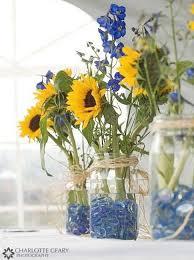 sunflower arrangements superb sunflower table decorations simple and interesting