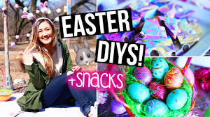 Easter Decorations Bethany Mota by Diy Easter U0026 Spring Room Decor Easter Eggs Snacks Laurdiy