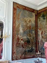 tapiserie chambre file chaussy 95 domaine de villarceaux chambre des marquises