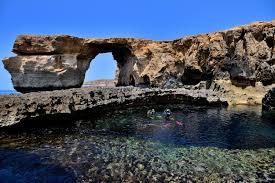 Azure Window Malta Azure Window Rock In Game Of Thrones Collapsed Simplemost