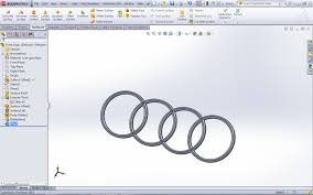 audi logo how to make logo for audi r8 in sw grabcad
