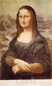 Mona by L H O O Q Mona Lisa With Moustache 1919 Marcel Duchamp