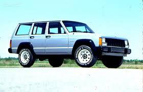 jeep cherokee specs 1984 1985 1986 1987 1988 1989 1990