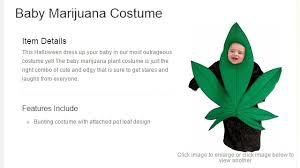 Marijuana Halloween Costume Dress Baby Marijuana Leaf Halloween