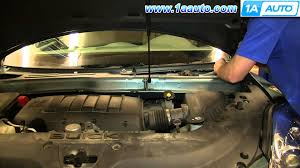 how to install replace wiper motor or linkage acadia enclave