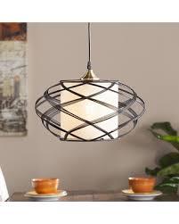 Pendant Light Wire Slash Prices On Soloff Wire Cage Pendant L Black