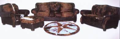 western style living room furniture western themes home decor cowhide living room furniture wall art