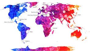 Usa Religion Map by Major World Religion Map Rev Co Org Struc Link Originrel