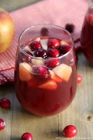 cranberry sangria eat drink