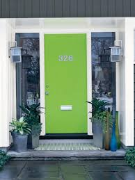 Front Door Paint Colors Sherwin Williams Exterior Color Inspirations The Brilliant Vibrant Painted Green