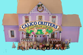 rabbit collection wooden dollhouse with my calico critters collection sylvanian