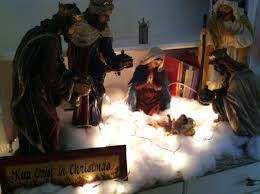 decorating your home for christmas with white snow mommy blogs