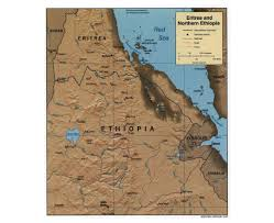 Map Of Northern Africa by Maps Of Ethiopia Detailed Map Of Ethiopia In English Tourist