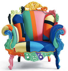 color furniture what s hot color blocking rainbows upcycled furniture and