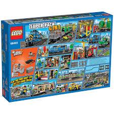 Buy LEGO City Remote Control Cargo Train Station Tracks