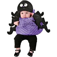 12 Months Halloween Costumes Infant Silly Spider Halloween Costume Size 6 12 Months