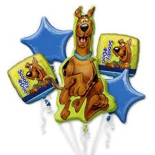 mylar balloon bouquet scooby doo birthday mylar balloon bouquet inflated balloon shop nyc