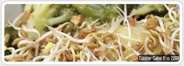 fenugrec cuisine recette minceur de purée de brocolis aux graines germées de