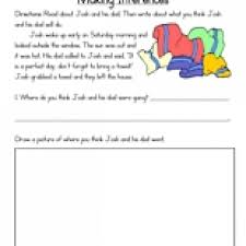 making inferences worksheets who am i inference worksheet for 4th