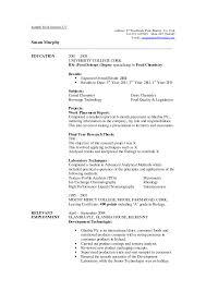 Resume Header Samples 100 Biology Degree Resume Sample Resume Masters Degree Resume