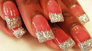 26 perfect acrylic glitter nail designs u2013 slybury com