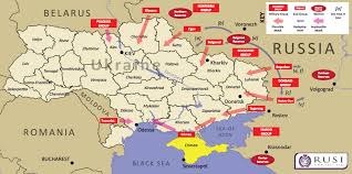 russia map with all cities map this is what a russian of ukraine could look like