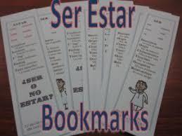 132 best ser and estar images on pinterest spanish classroom