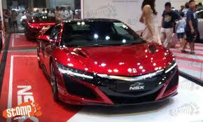 honda car singapore 930k honda nsx at singapore motorshow is a but not