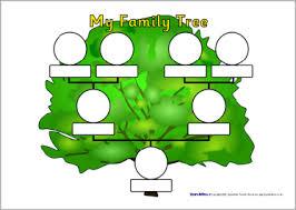 family tree sheets sb1982 sparklebox