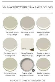 nine fabulous benjamin moore warm gray paint colors warm gray with