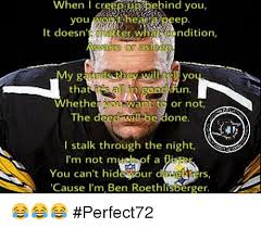 Roethlisberger Memes - vvhen cr you it doesn t ter whancondition awake or as thmad y g tha