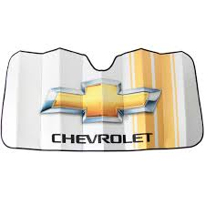 logo chevrolet front windshield u0026 side window car truck suv sunshades