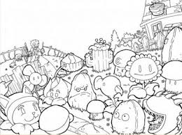 get this plants vs zombies coloring pages to print online y1648