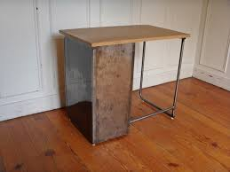 plateau de bureau en bois bureau métal plateau bois style and steel jpg tables bureaux