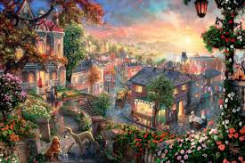 thomas kinkade halloween online get cheap kinkade canvas aliexpress com alibaba group
