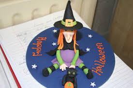Halloween Witch Cake by Cake Decoration St Saviour U0027s National Ballybeg Waterford