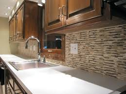 Rusty Brown Slate Mosaic Backsplash by Gold Tile Backsplash Rusty Gold Color Calculator Tile Kitchen Sink