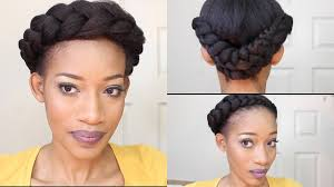 black hair goddess style goddess braids winter protective style natural hair 4c hair