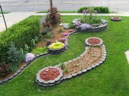 decor contemporary design of landscape edging ideas for garden