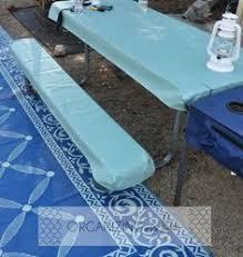 picnic table cover set picnic table cover set 3 pc fits standard table elastic binding