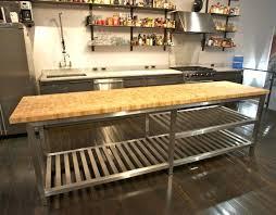 stainless top kitchen island top kitchen island cart designs the clayton design