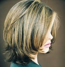 front and back views of chopped hair layered bob hairstyles back view short layered bob hairstyles