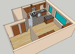 simple 3d 3 bedroom house plans and 3d view house drawings perspective