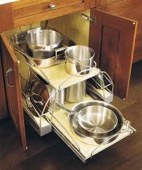 kitchen pan storage ideas pan rack cabinet kitchen cabinet cabinet storage organizers