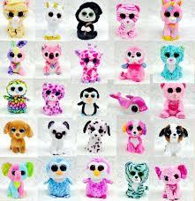 quality 25 design ty beanie boos plush stuffed toys 17cm