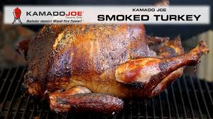 thanksgiving turkey on the grill 2014 kamado joe smoked turkey youtube