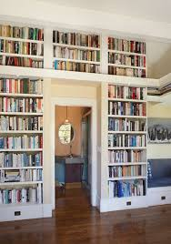 Wall Bookcases With Doors Home Library Design Ideas With Stunning Visual Effect